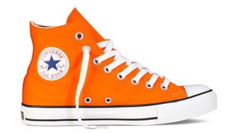 converse all star arancione