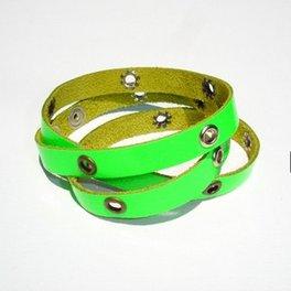 daffodilbijoux-studs-polsino-bracciale-verde