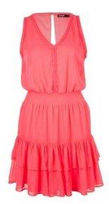 vestito-corallo-fluo-jennyfer