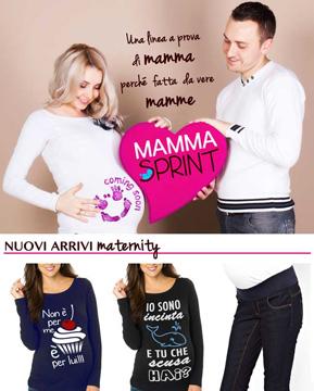MammaSprint - abbigliamento gravidanza
