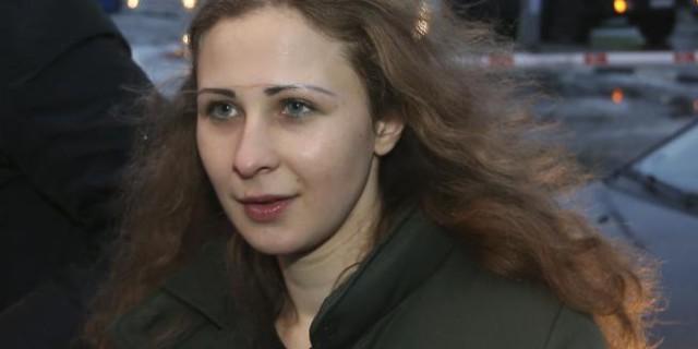 Pussy Riot: Maria Alyokhina libera