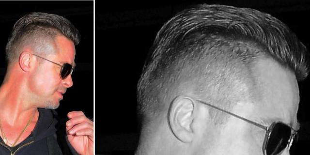 Brad Pitt sfoggia un nuovo look