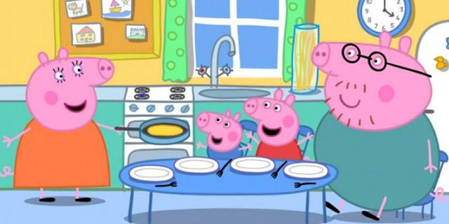 Peppa Pig promossa, dalla televisione al francobollo!