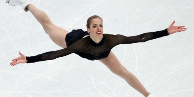 Carolina Kostner è medaglia di bronzo nel pattinaggio di figura