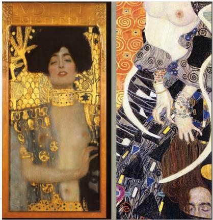 La donna di Gustav Klimt