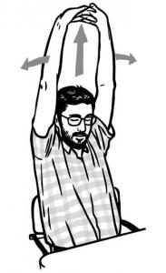 Stretching da tavolo: gli esercizi da fare a casa