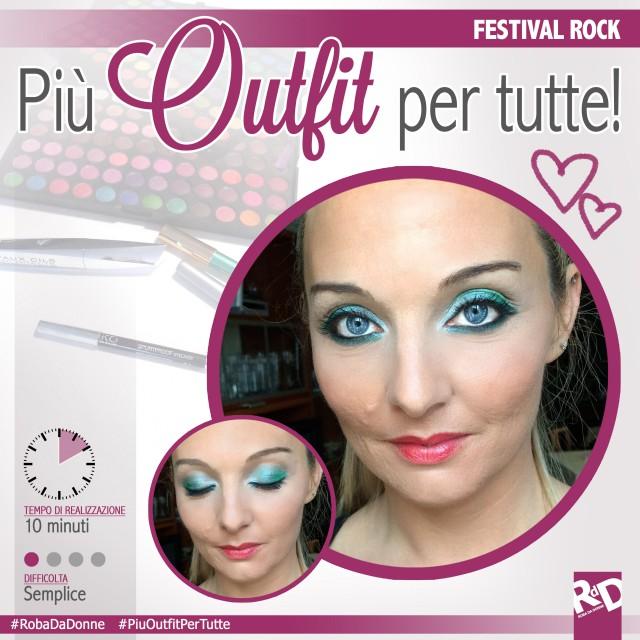 Più Outfit per tutte: Festival Rock – makeup