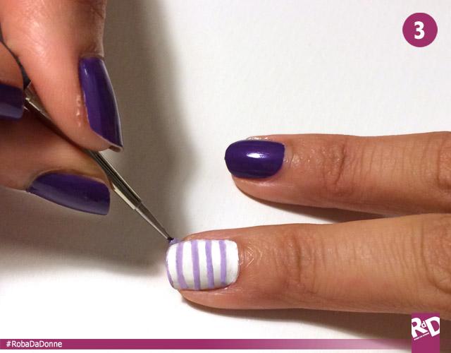Nail art per total white