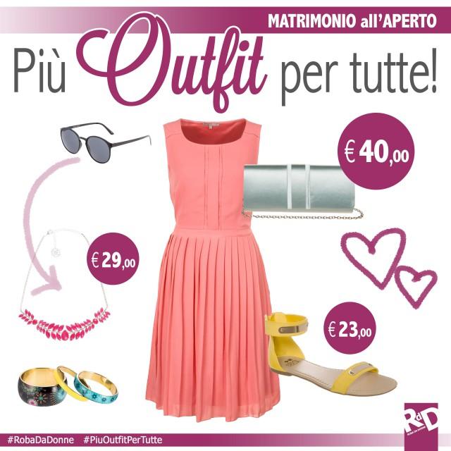 Outfit low-cost per un matrimonio estivo all'aria aperta