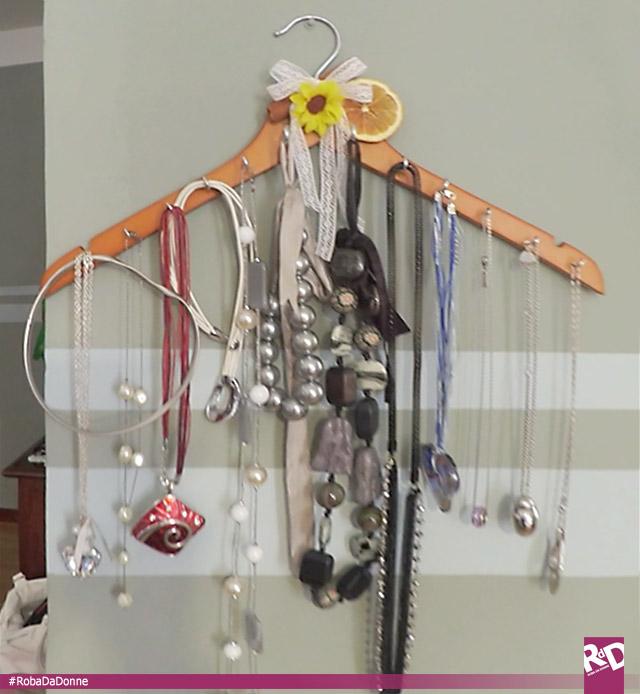 Appendiabito porta bijoux [tutorial]
