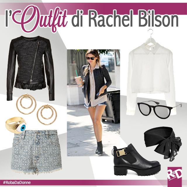 Copia l'Outfit di Rachel Bilson