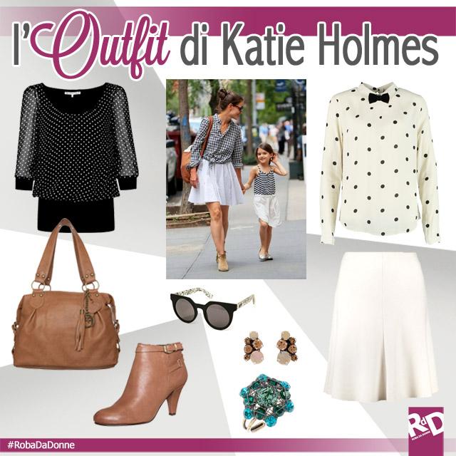 Copia il Look di Mamma Katie Holmes