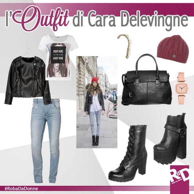 Copia L'Outfit Di Cara Delevingne!