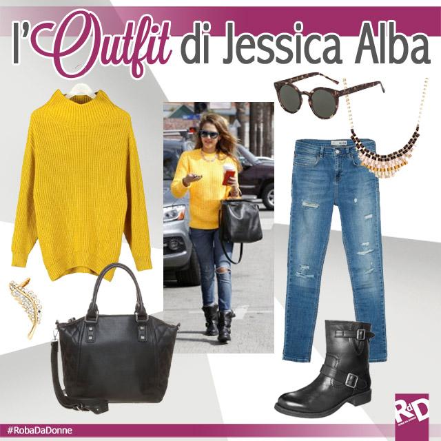 Copia L'Outfit di Jessica Alba