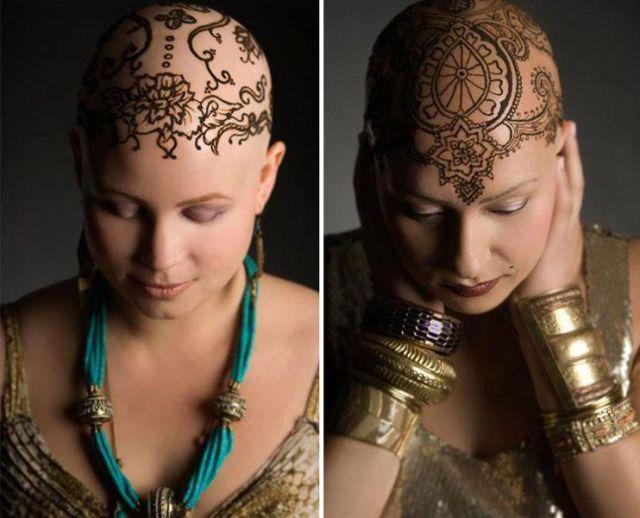 Donne Contro La Chemio: tatuaggi All'Hennè Per Sentirsi bellissime