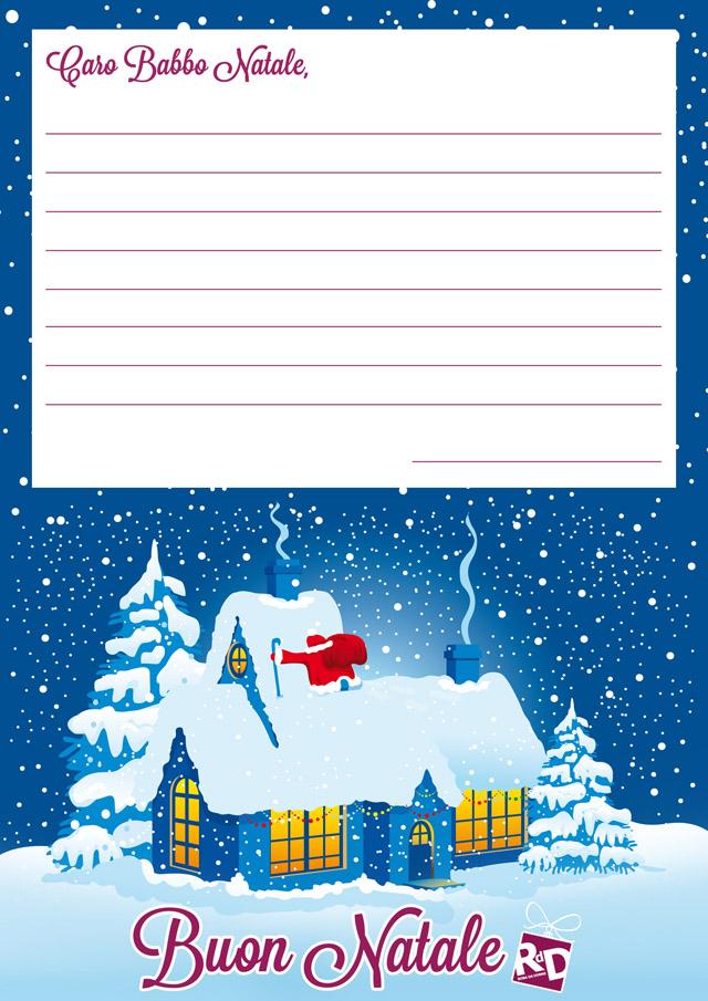 Scarica le letterine di Babbo Natale