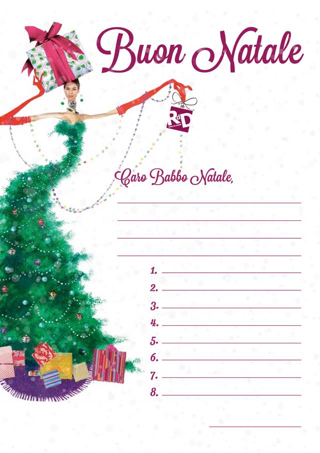 Scarica le letterine per Babbo Natale di RdD
