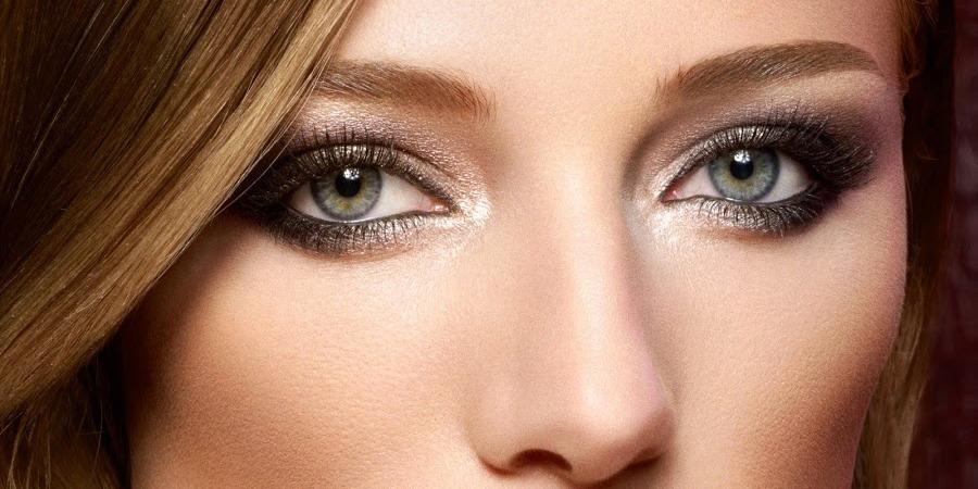 Blue eye makeup for brown eyes