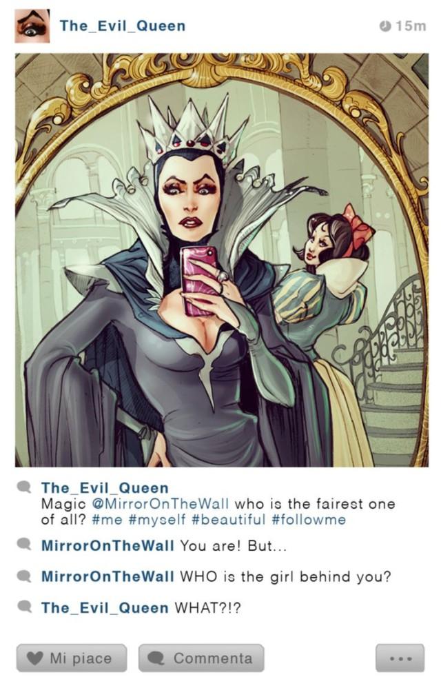 E se i Personaggi Disney Usassero Instagram? Ecco Come Sarebbero!
