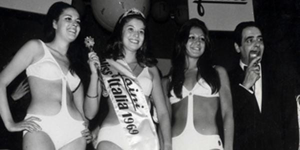 Uno dei primi trikini a Miss Italia 1969