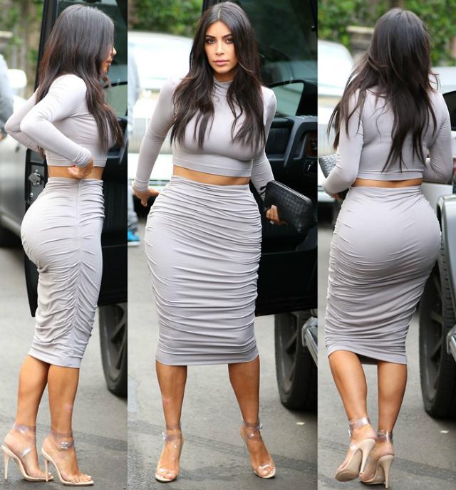 Kim Kardashian sedere