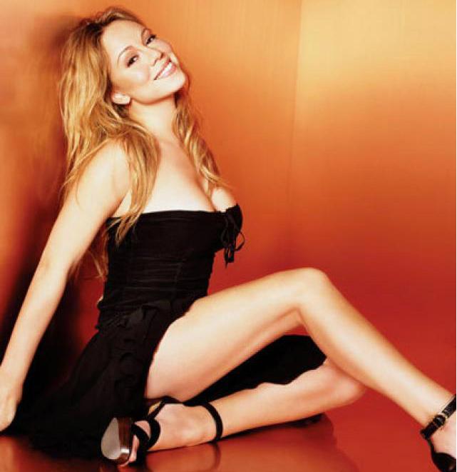 Mariah Carey gambe