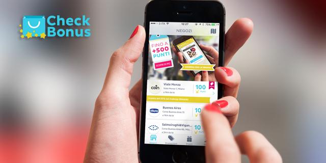 Check Bonus, l'app che ti regala sconti per i tuoi acquisti e altri premi