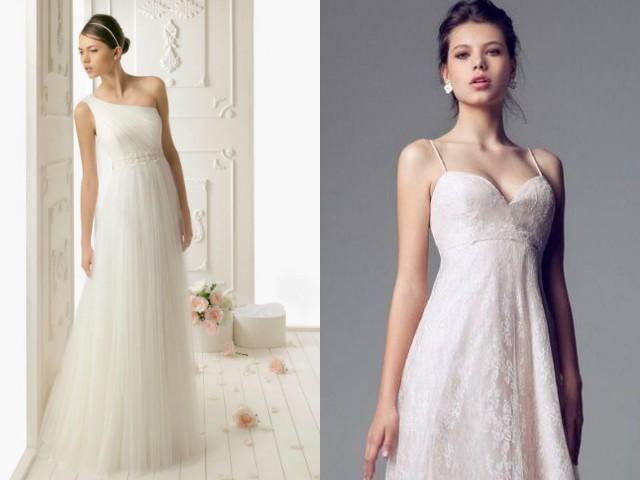 gli stilisti abiti da sposa stile impero