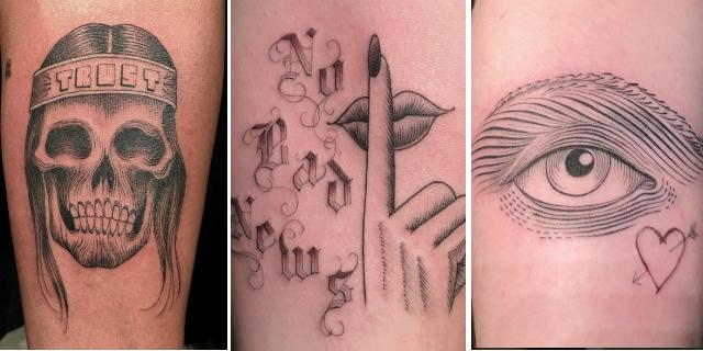 tatuaggi al buio gratis