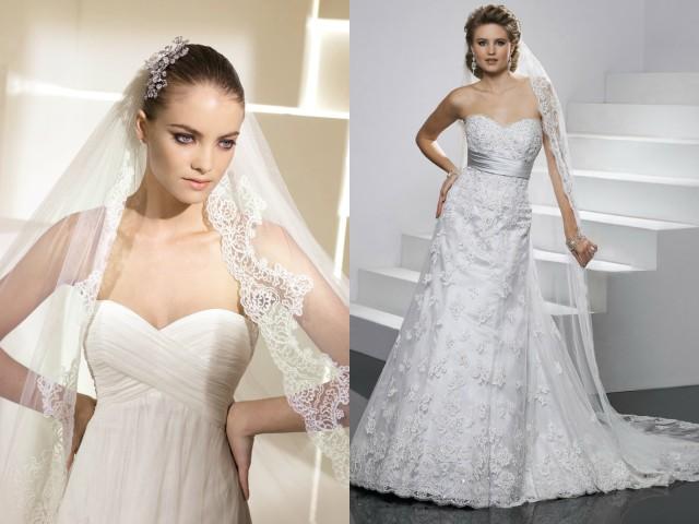 accessori e velo abiti da sposa stile impero