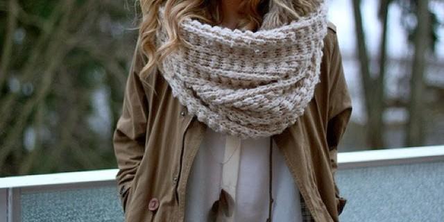 Sciarpe di lana fai da te
