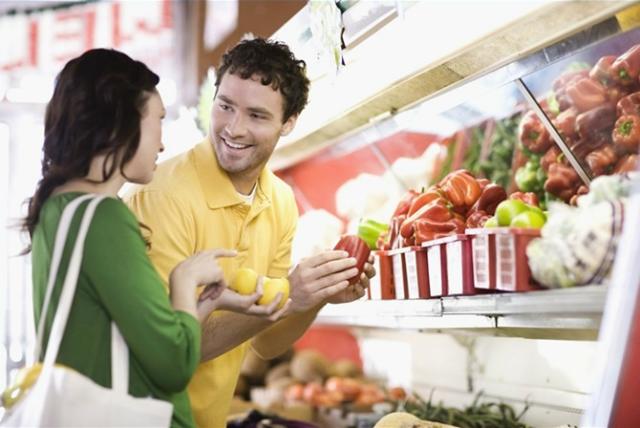 incontrare uomini al supermercato