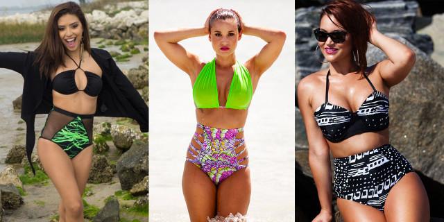 Neo mamma crea dei bikini per valorizzare le nuove forme nascondendo le cicatrici