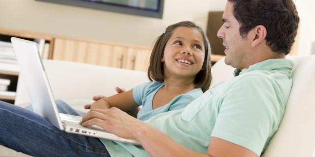 Il rapporto tra padre e figlia preadolescente