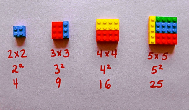 tabelline coi lego