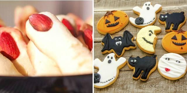 dita di strega e biscotti halloween
