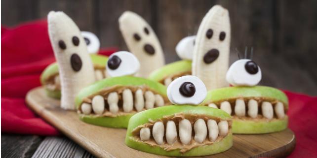 dolcetti con kiwi halloween