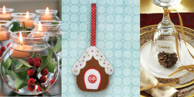 7 idee fai da te per decorare la tavola di natale roba da donne - Decorare la tavola a natale ...
