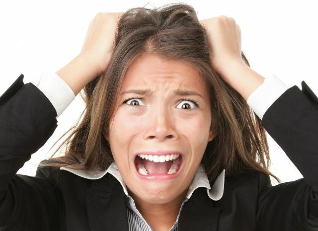 lo stress gonfia la pancia
