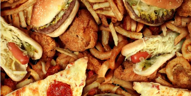 eliminare junk food