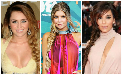 Fishtail Braid Celebrities
