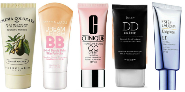 bb cream cc cream dd cream ee cream