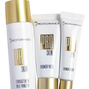 mediterranea makeup pro skin fondotinta pelle perfetta primer viso primer occhi 2