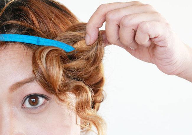 Capelli mossi con una fascia video tutorial for Piastra per capelli mossi