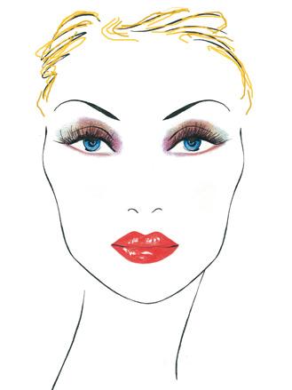 make up-bionda